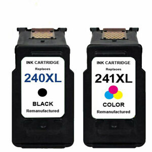 2 Pack PG-240xl Black Ink Cartridge for Canon PIXMA MG2220 MG3222 MX372 MX452