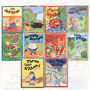 Nursery-Library-Stories-10-Books-Set-Children-Collection-School-Picture-Pack