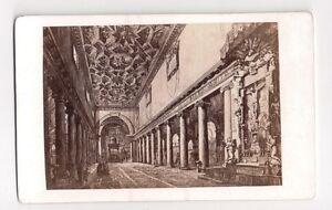Vintage-CDV-Basilica-di-Santa-Maria-Maggiore-Molins-Photograph