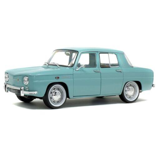 Renault 8 Major 1967 Light Blue 1//18 S1803601 SOLIDO