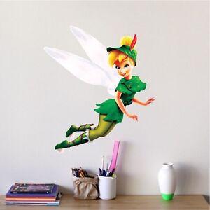 Tinker Bell Wall Decal Peter Pan Vinyl Disney Sticker Tinkerbell ...