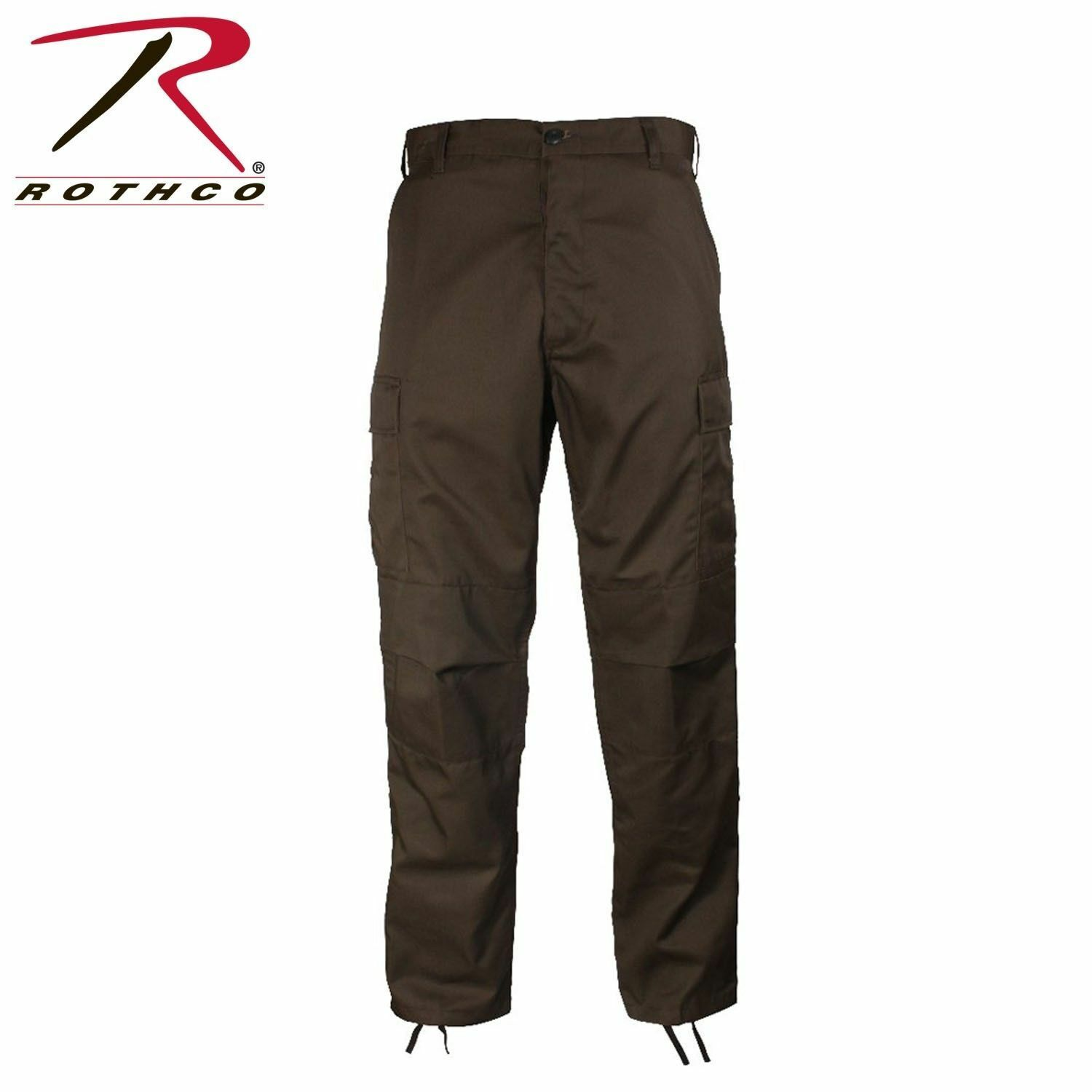 redhco BROWN Military Fatigue Solid BDU PANTS CARGO SIZES  S M L XL 2X 3X