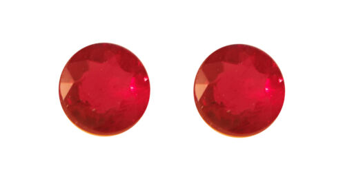 2.5mm Round 2pc Natural Loose Ruby Lot Fine Quality Good Fire For Setting