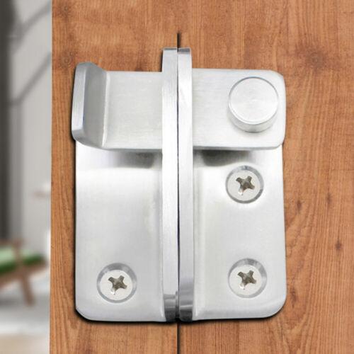 Security Punching Wardrobe Door Bolt Latch Drawer Lock Stainless Steel Hardware