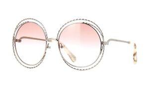 8e76e69b9c Chloé CARLINA TWIST CE114ST gold peach shaded (724 C) Sunglasses ...