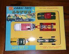 Corgi gift set 37 lotus racing team sans voiture et accessoires