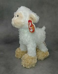 """TY Beanie Baby BAAABSY the Lamb (7"""") Mint with Mint Tags 1 Owner Smoke Free Home"""