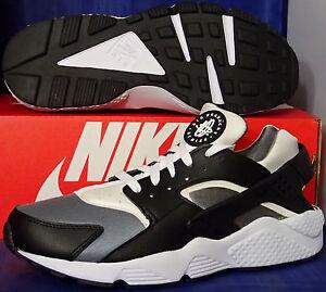 39b0bb451c51 Nike Air Huarache Run iD Black Cool Grey White SZ 10 ( 777330-994 ...