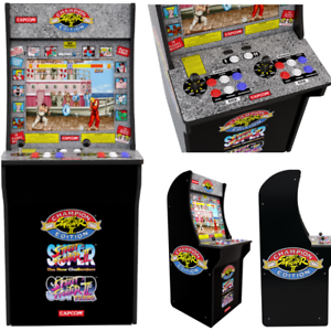 Details about Classic Street Fighter Machine With Authentic Arcade Controls  Best Game Cabinet