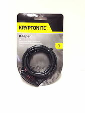 KRYPTONITE KEEPER BICYCLE BIKE CABLE COMBO COMBINATION LOCK 512 NEW