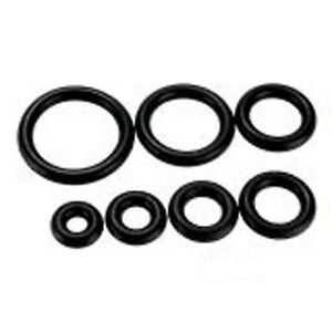 Pack-of-10-5-pairs-Replacement-Black-Silicone-O-Rings-14G-3-4-U-Choose-Size