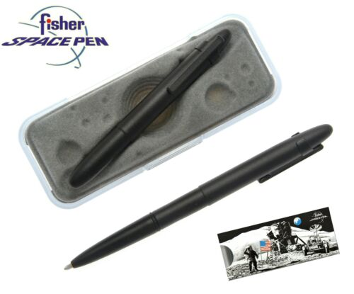 Fisher Space Pen #400BCL Personalized Black Bullet Pen with Clip