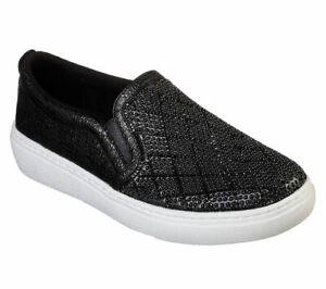 Skechers-Goldie-Diamond-Darling-Women-039-s-Slip-On-Fashion-Shoes