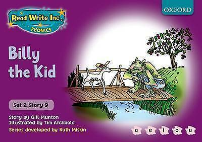 1 of 1 - Read Write Inc. Phonics: Purple Set 2 Storybooks: Billy the Kid by Ruth...