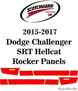 3M Scotchgard Paint Protection Film 2015 2016 2017 Dodge Challenger SRT Hellcat