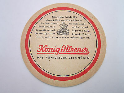 Mat GERMANY KONIG-PILSENER Beer COASTER