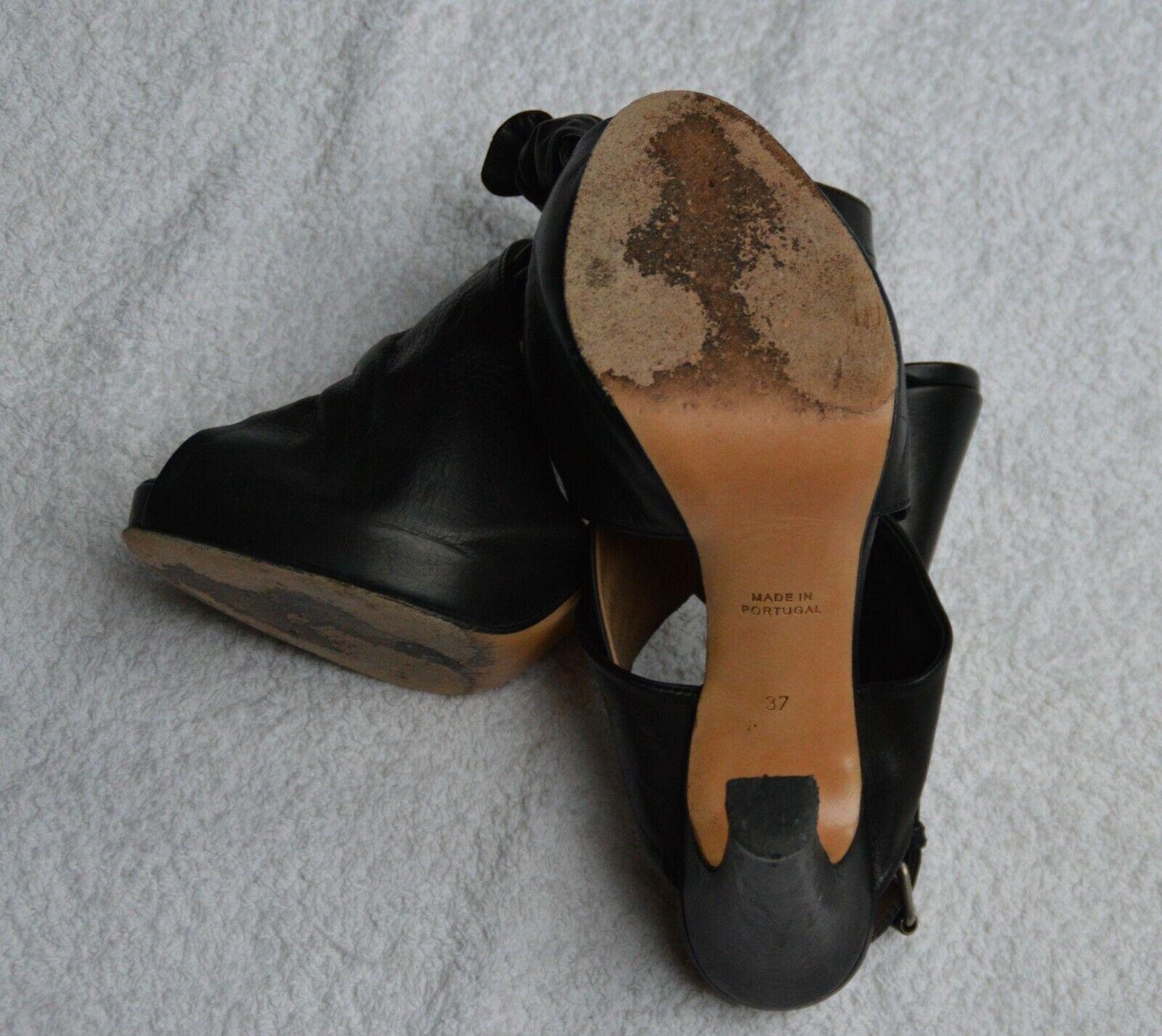 Damir Doma front front front overlap tie sandal schwarz Größe 37 f110c2