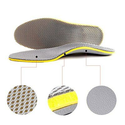Comfortable Orthotic Arch Support Shoes Insoles Pads Pain Relief Foot Care