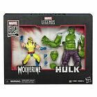 Marvel E6349 Legends 80th Anniversary 6in Wolverine and Hulk Action Figures