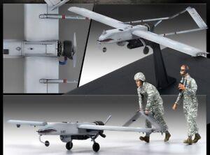 Academy-1-35-US-RQ-7B-Shadow-with-2-Figures-UAV-Assemble-Kits-Plastic-Model-Kit