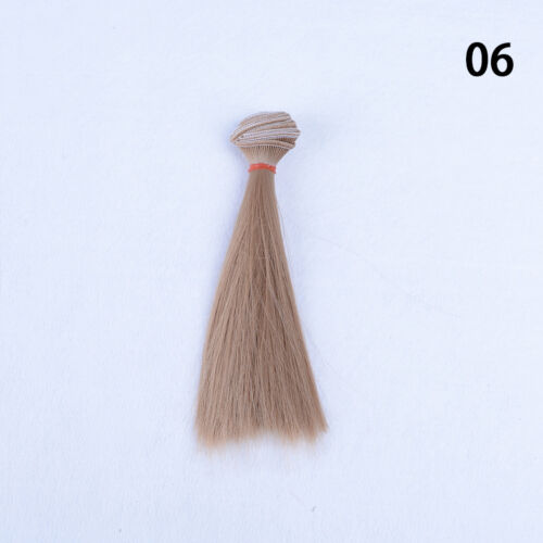 15x 100cm DIY Doll High-temperature Wire Straight Hair Wig 1//3 1//4 1//6 new M $T
