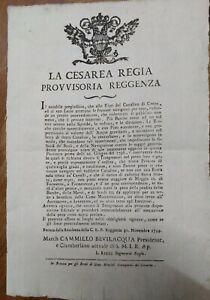 1799-FERRARA-BANDO-GOVERNO-PROVVISORIO-SU-DANNI-DELLE-BARCHE-NEL-CANALE-DI-CENTO