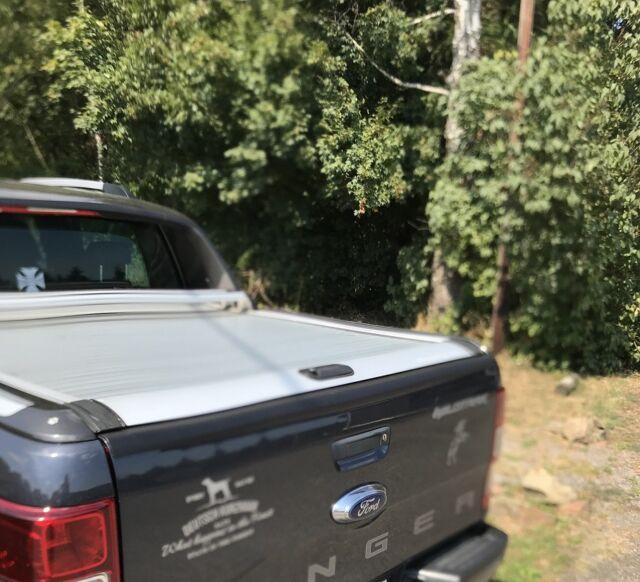 Schutzleiste Heckklappe alle Modelle 2012 Kantenschutz Ford Ranger TKE ab Bj
