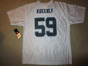 brand new aaa68 19000 Details about Luke Kuechly #59 Carolina Panthers NFL Jersey Youth XL 18-20  children NEW