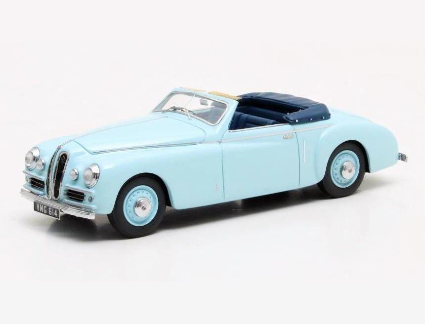 BRISTOL 400 DHC BY PININFARINA CABRIOLET 1948 Blau MX40204-101 Matrix 1 43 New