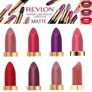 Revlon Super Lustrous Matte Lipstick Brand New