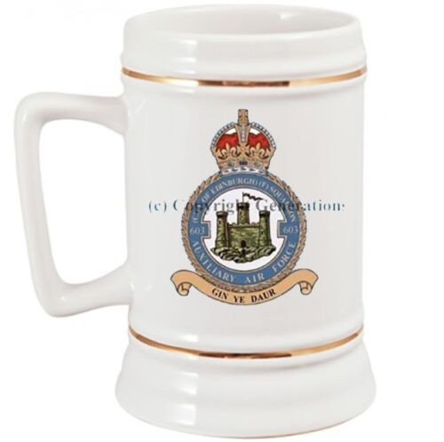 ROYAL AIR FORCE 603 SQUADRON BEER STEIN