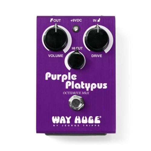 WAY HUGE WHE800 Purple Platypus Octidrive MkII Overdrive Octave Guitar Pedal