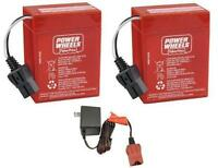 Power Wheels 6v Red Battery Children Play Car Truck Jeep 00801-0712 Toys