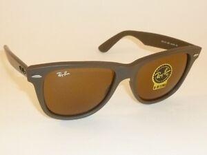 cdd4788a50c New RAY BAN Original WAYFARER Sunglasses RB 2140 889 Matte Chocolate ...