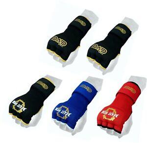 EVO-MMA-Gel-Guanti-Borsa-A-Mano-Pugno-Wraps-Guanti-Interni-Boxe-Arti-Marziali-UFC-Gear