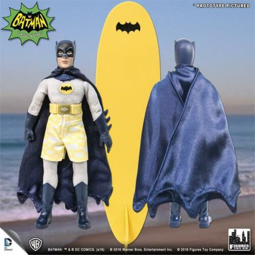 BATMAN 1966 TV SURFING SERIES BATMAN 8 INCH ACTION FIGURE NEW IN  POLYBAG
