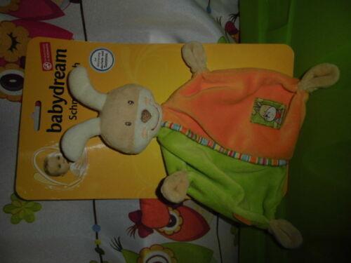 1 Stück NEU    Hase Babydream   Schmusetuch    Schnuffeltuch