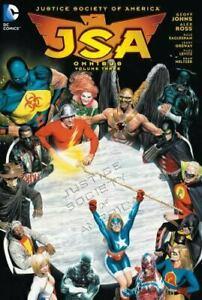 JSA by Geoff Johns HC Omnibus Volume 3 Hardcover Graphic Novel