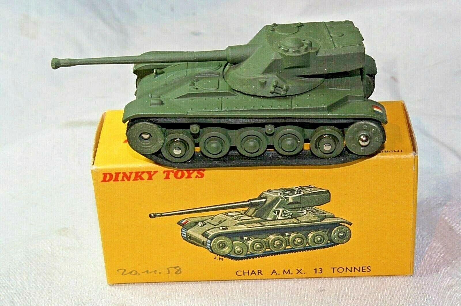 Dinky France  80C AMX Tank, Mint in Shop Fresh Mint Original Box