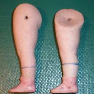"""Dolls Antique Legs 2.73"""" For Dollhouse Doll Wire Fixing Quality First Dolls & Bears"""