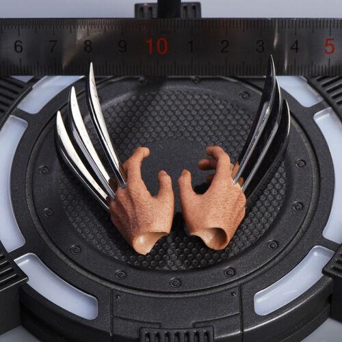 //6 griffes Mains Relax pour Wolverine Logan PHICEN figurine Worldbox ☆ navire de USA ☆