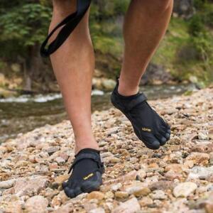 Vibram-Fivefingers-Kso-Classic-Homme-Chaussures-Noires-M148-Noir-Nouveau-Neuf