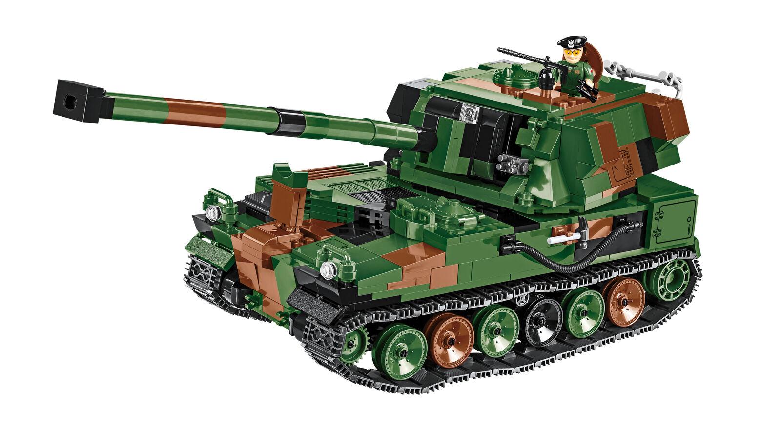 Konstruktionsspielzeug bauste haubitze ahs - armatohaubica mit eigenantrieb.