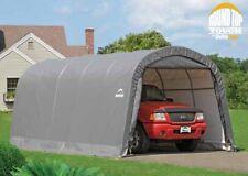 ShelterLogic 12x20x8 Round Auto Shelter Portable Garage Steel Carport Car 62780