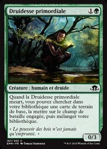 primal druid//druidesse paramount x4 Mtg magic emn - French//vf