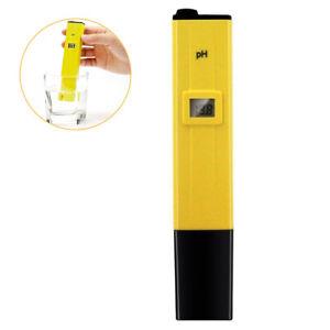 1× Portable Digital LCD PH Meter Pen Tester for Hydroponics Aquarium Pool Water