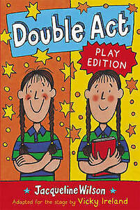 Double-Act-Play-Edition-by-Jacqueline-Wilson-Acceptable-Used-Book-Paperback-F