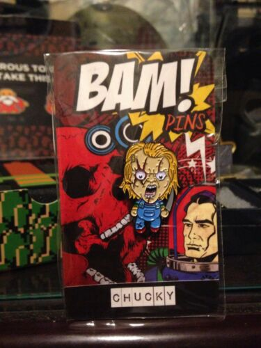 Exclusive The Bam Box Chucky Childs Play Enamel pin Butch-o-vision