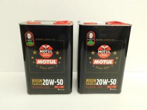 7-50-l-Motul-Classic-Motor-Oil-SAE-20W50-2-x-5-ltr-Oldtimer-Motorenol