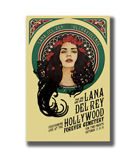 Lana Del Rey Soul Music Singer Art FABRIC 32/'/'X24/'/'inch Poster 069